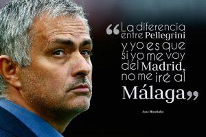 """10. Esto lo expresó Mourinho en 2012, mencionando que a diferencia de Manuel Pellegrini, él sería fichado por un """"grande"""" de Europa si salía del Real Madrid. Foto:Getty Images. Imagen Por:"""