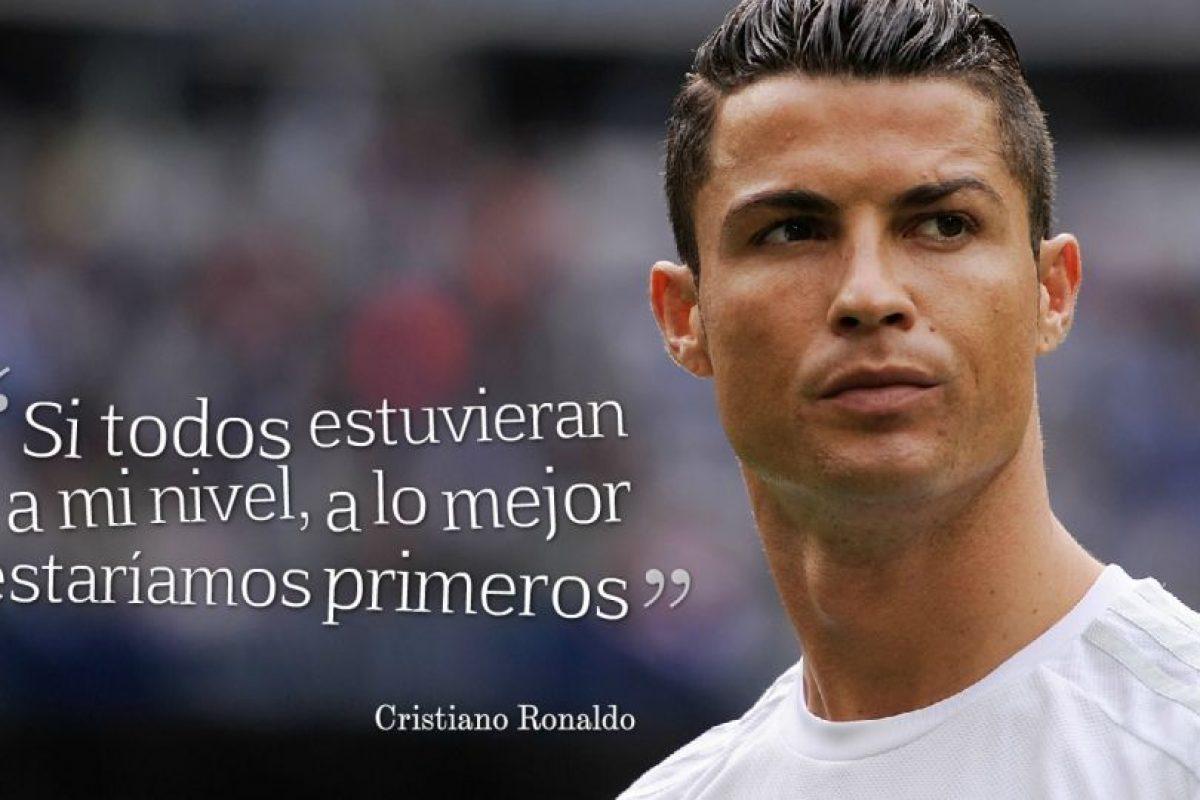 """8. Es la última """"joya"""" de Cristiano Ronaldo. El portugués se quejó así de sus compañeros tras perder el derby de Madrid ante el Atlético el pasado fin de semana. Foto:Getty Images. Imagen Por:"""
