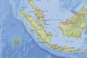 El epicentro del terremoto Foto:EFE. Imagen Por: