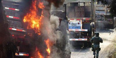 Desconocidos cortan ruta a Tirúa en medio de operativos por ataque y enfrentamiento armado