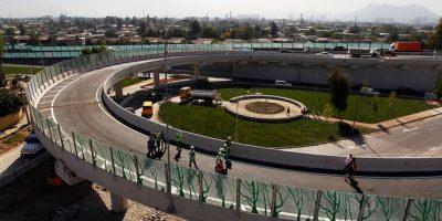 Presidenta Bachelet encabeza habilitación de enlace entre Autopista Central y Costanera Norte