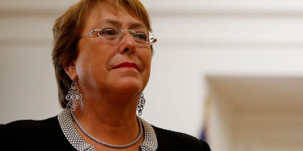 """Presidenta Bachelet defendió a Cristián Riquelme: """"Creo que no hizo nada ilegal"""""""