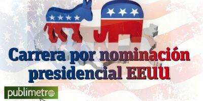 Infografía: carrera por nominación presidencial EEUU