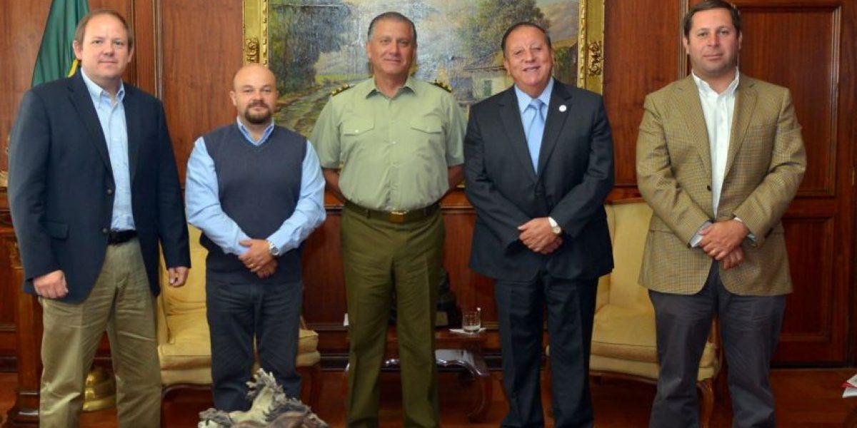 Camioneros sostuvieron reunión de trabajo con General Director de Carabineros