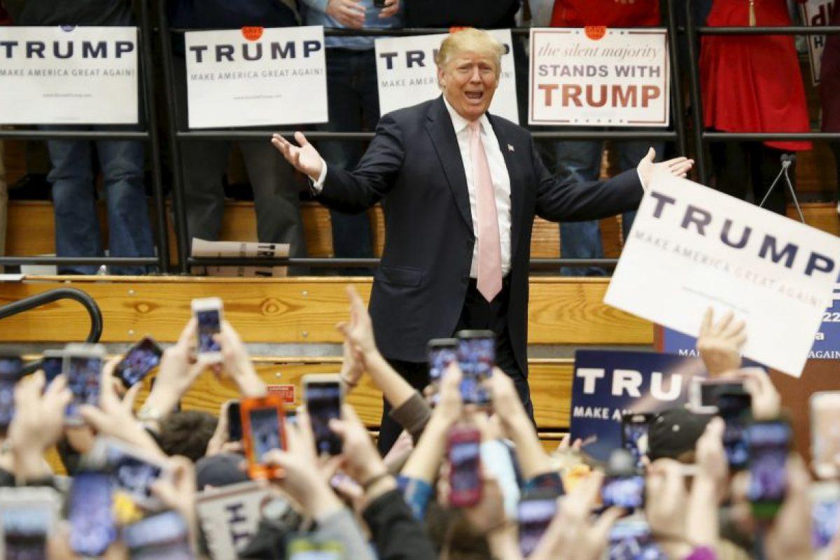 Donald Trump Foto:AP. Imagen Por: