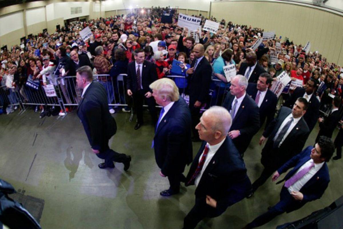 """""""Yo soy un unificador"""", afirmó el magnate. Foto:vía Getty Images. Imagen Por:"""