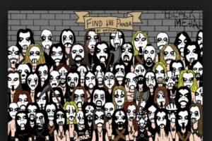 ¿Dónde está el panda metalero? Foto:Vía Twitter. Imagen Por: