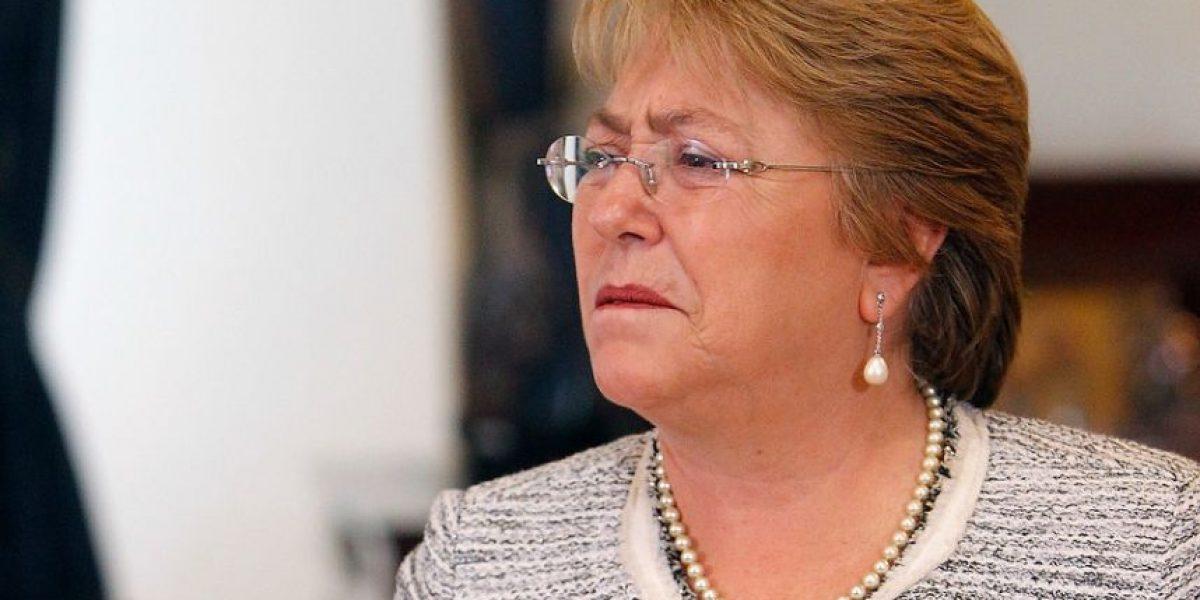Adimark: aprobación de Presidenta Bachelet alcanza el 27%