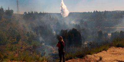 Talagante: incendios forestales han consumido más de 350 hectáreas