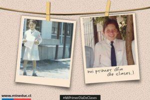 Ministra de Deporte Natalia Riffo y Ministro de Desarrollo Social Marcos Barraza Foto:Reproducción Twitter Mineduc. Imagen Por: