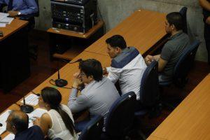 Vista de la sala donde fueron formalizados los dueños de la cuestionada empresa.. Imagen Por: