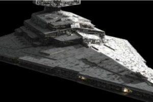 """La supuesta nave de """"Star Wars"""" encontrada en Marte Foto:Lucasfilms. Imagen Por:"""