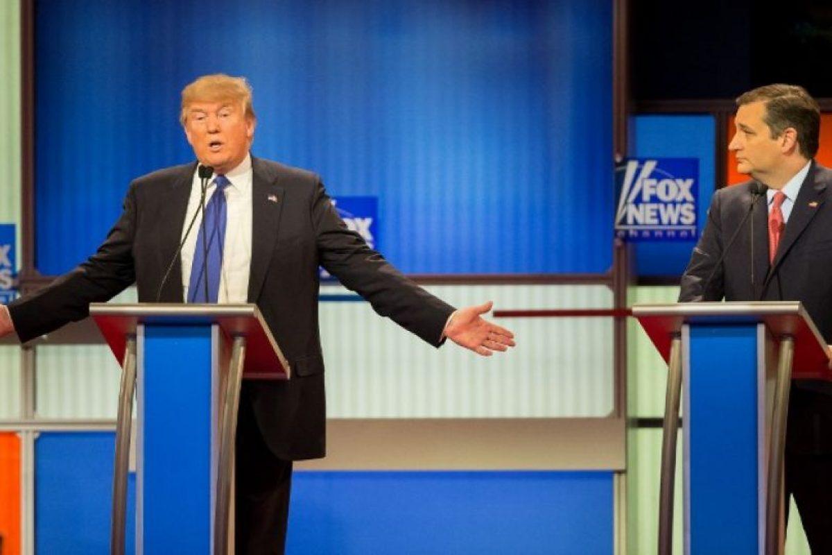 """Trump: """"Tengo el 49% en el proceso de votación, nadie tiene eso"""" Foto:AFP. Imagen Por:"""