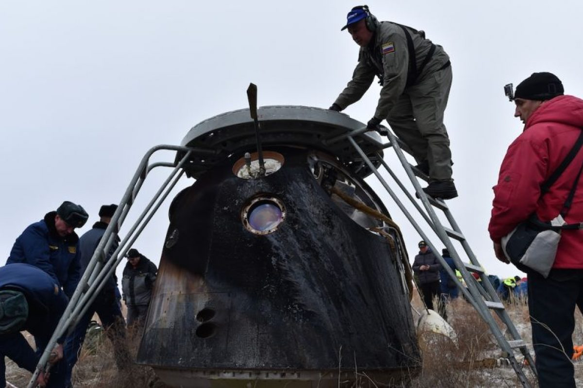 Así fue el retorno de Scott Kelly a la Tierra Foto:AFP. Imagen Por: