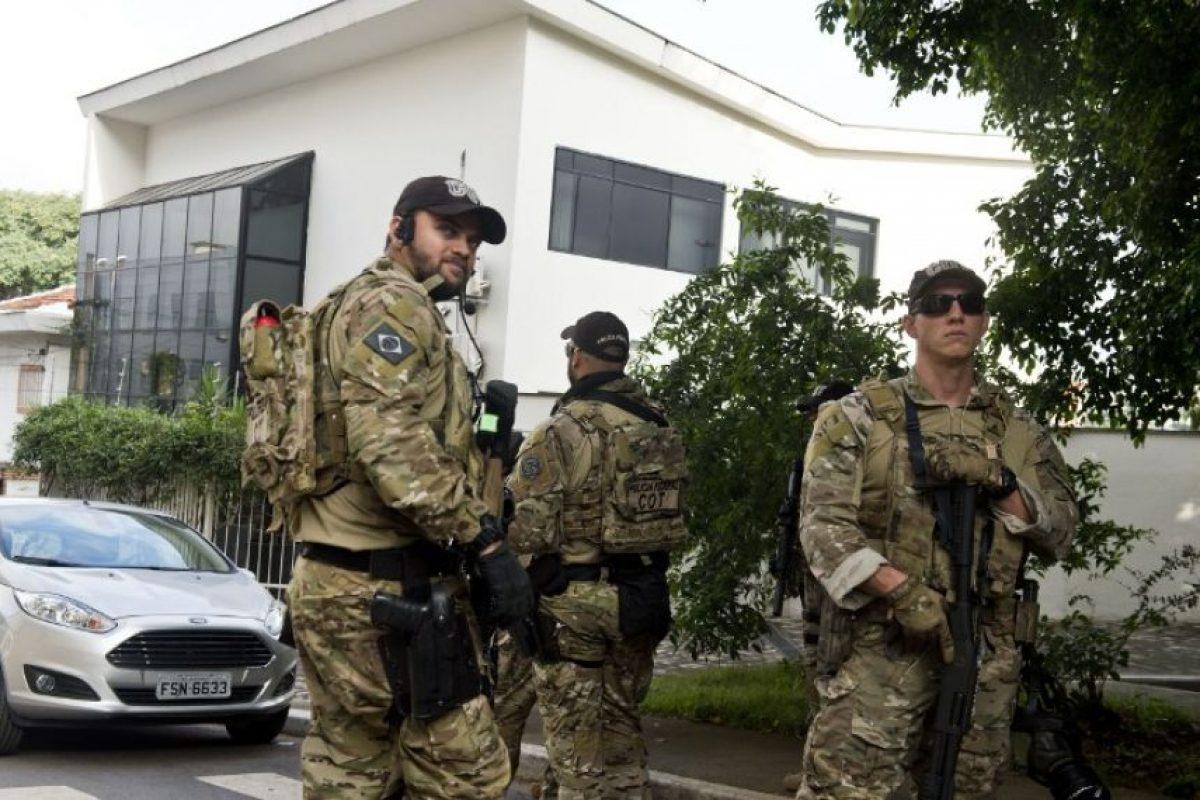 La casa fue allanada Foto:AFP. Imagen Por: