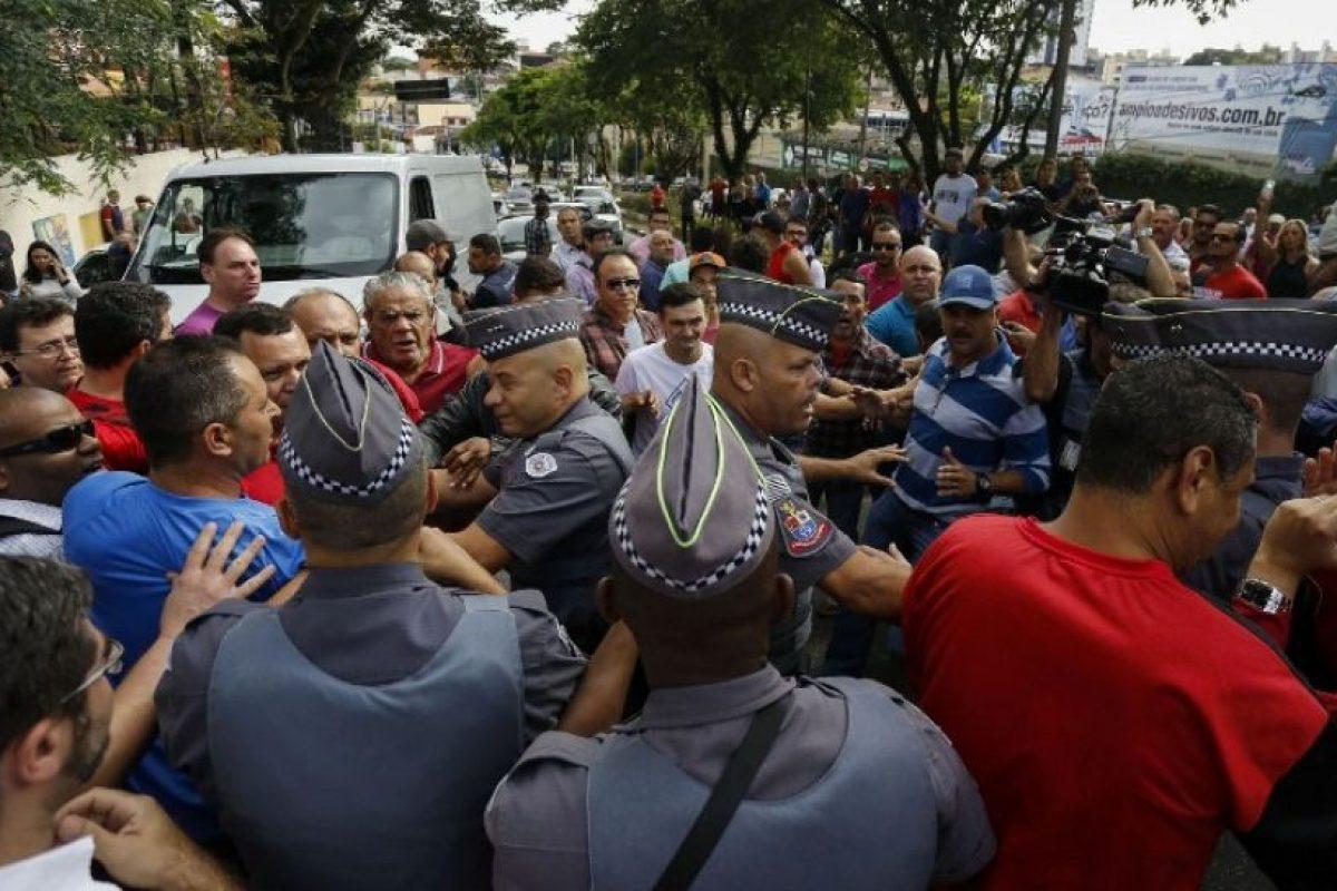Hubo algunos enfrentamientos Foto:AFP. Imagen Por: