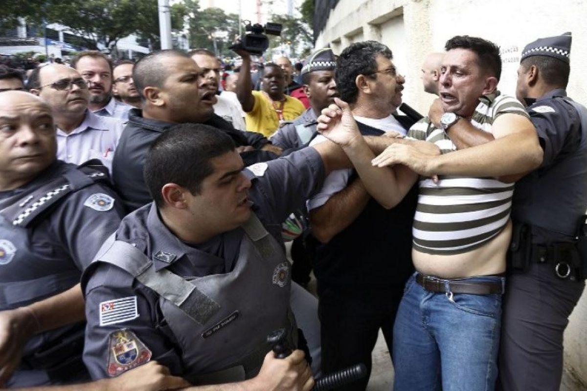 Principalmente entre policías y manifestantes Foto:AFP. Imagen Por: