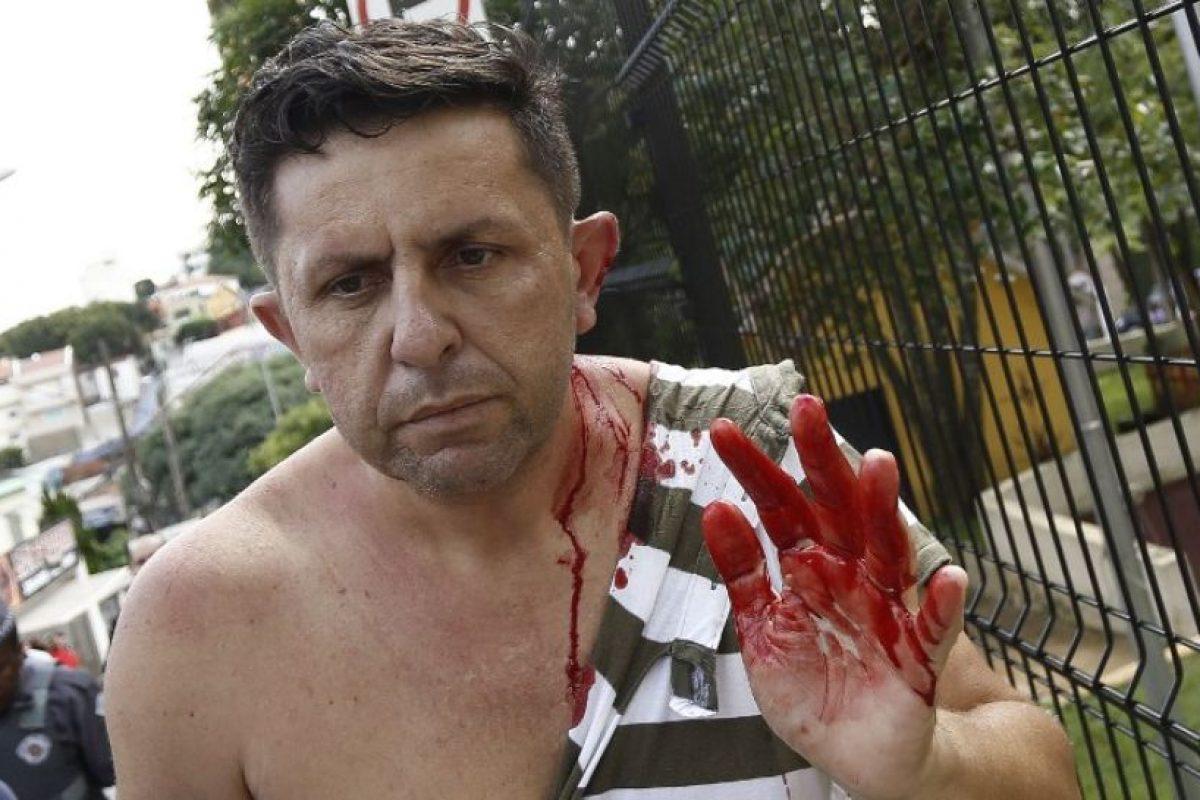 Lo que dejó algunos heridos Foto:AFP. Imagen Por: