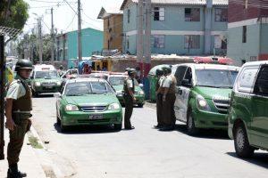 La población Parinacota, en Quilicura, es lugar habitual de operativos policiales. Foto:Archivo Agencia Uno. Imagen Por: