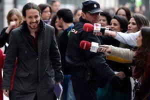 Pablo Iglesias, líder de Podemos. Foto:AFP. Imagen Por:
