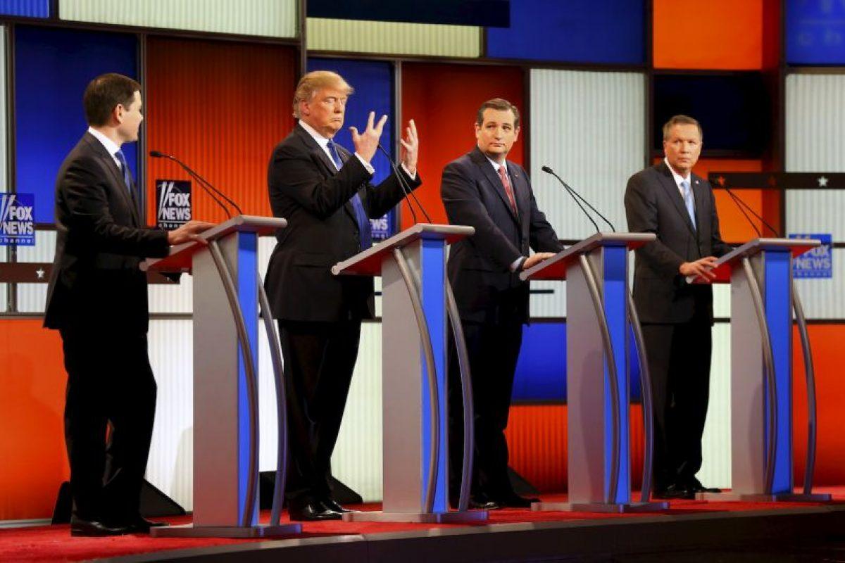 """Trump: """"Odio a las políticos"""" Foto:AP. Imagen Por:"""