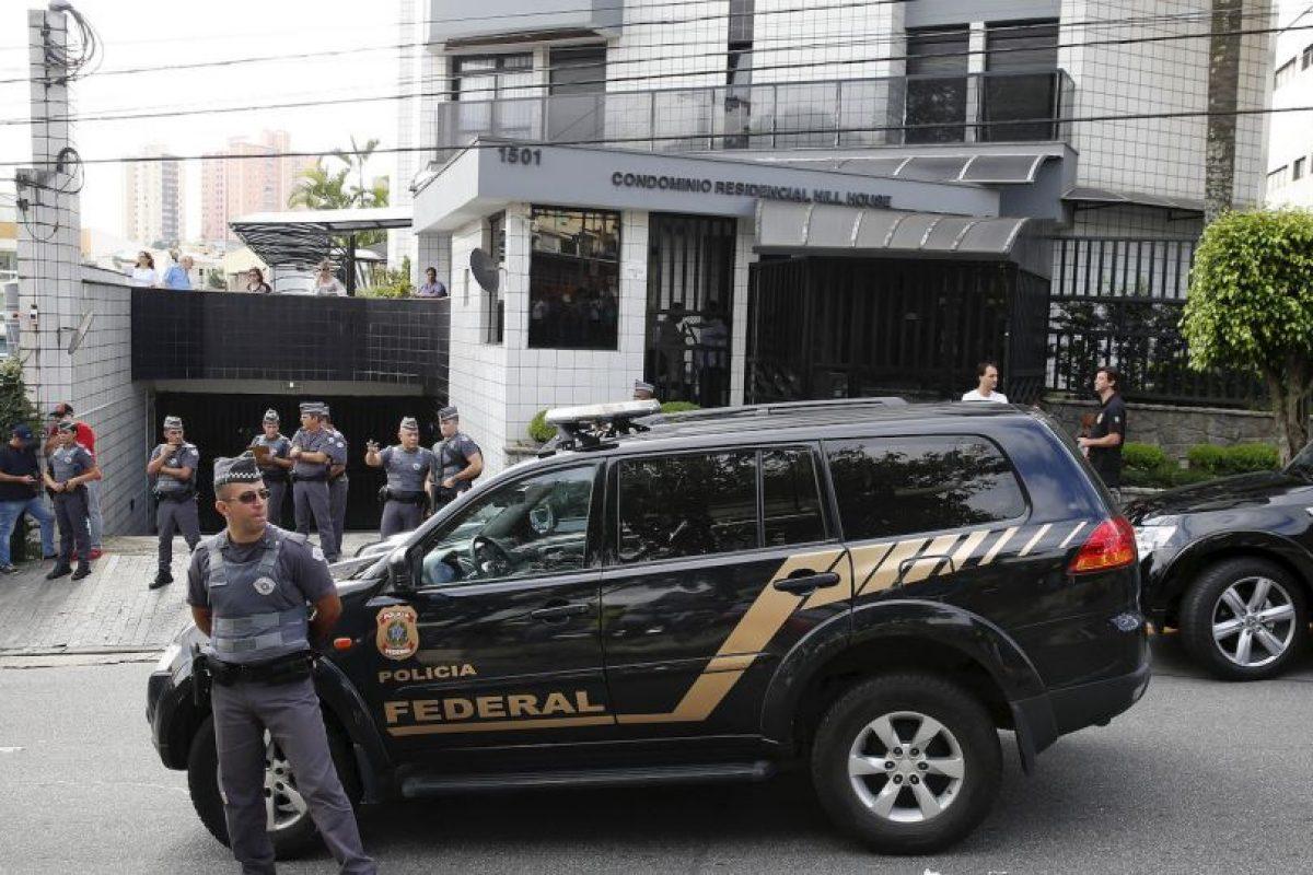 La casa fue allanada Foto:AP. Imagen Por: