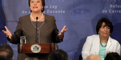 Bachelet en promulgación de Carrera Docente: