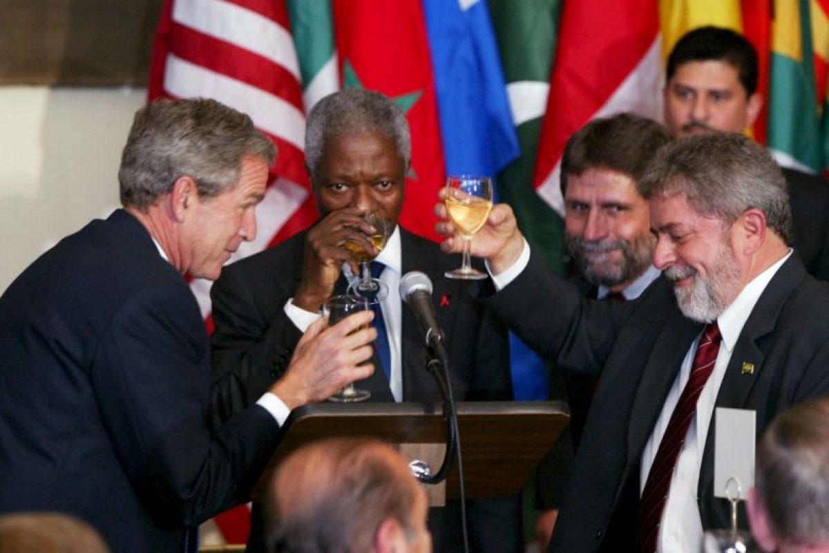 Misma que le dieron el triunfo y lo volvieron presidente hasta diciembre de 2010. Foto:Getty Images. Imagen Por:
