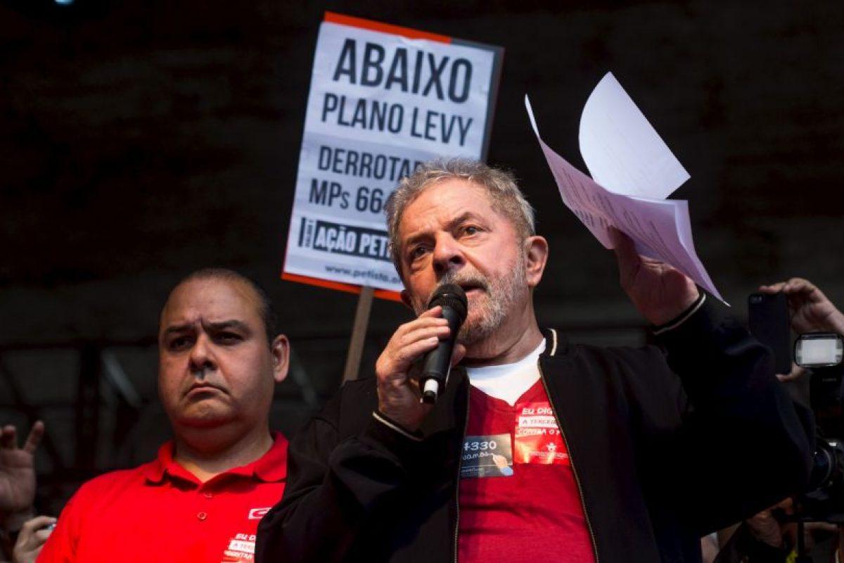 Es un político brasileño, expresidente del país. Foto:Getty Images. Imagen Por: