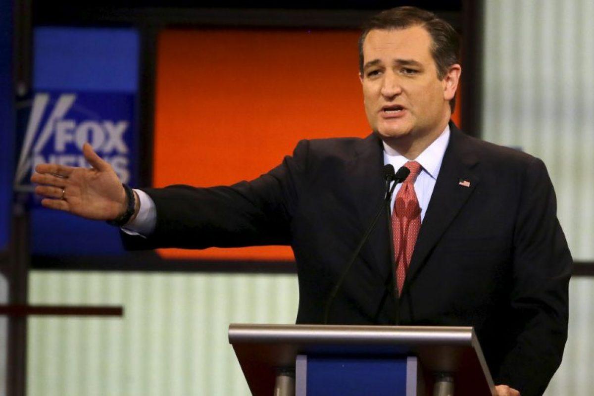 """Ted Cruz: """"Dejaré la cuestión de los matrimonios del mismo sexo y adopción a los estados"""" Foto:AP. Imagen Por:"""
