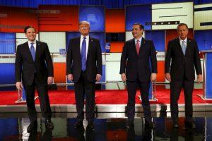 Todos los precandidatos cuestionaron a Donald Trump Foto:AP. Imagen Por: