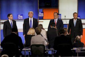 El debate republicano en Detroit Foto:AP. Imagen Por: