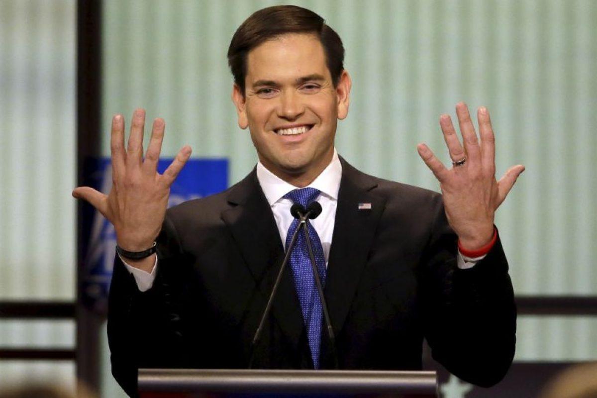 """Rubio: """"Donald Trump no apoya a los trabajadores estadounidenses"""" Foto:AP. Imagen Por:"""