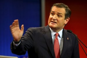 """Ted Cruz: """"Donald aprende a no interrumpir. Cuente hasta 10″ Foto:AP. Imagen Por:"""