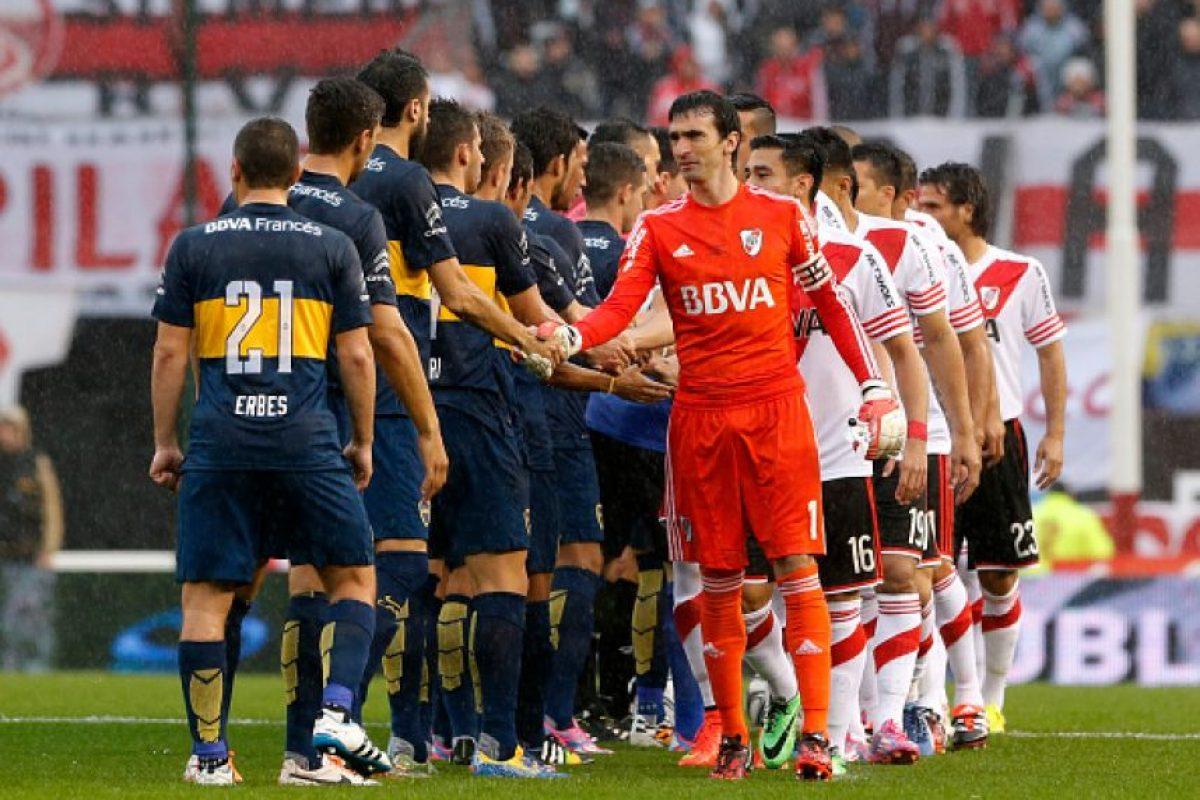 1. Clásico Argentino: Foto:Getty Images. Imagen Por:
