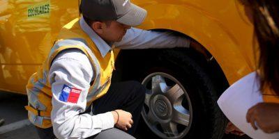 MOP realiza fiscalización masiva a furgones escolares