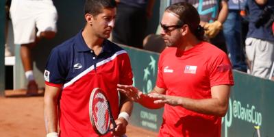 Minuto a minuto: Chile sale a cerrar la serie en el dobles ante República Dominicana