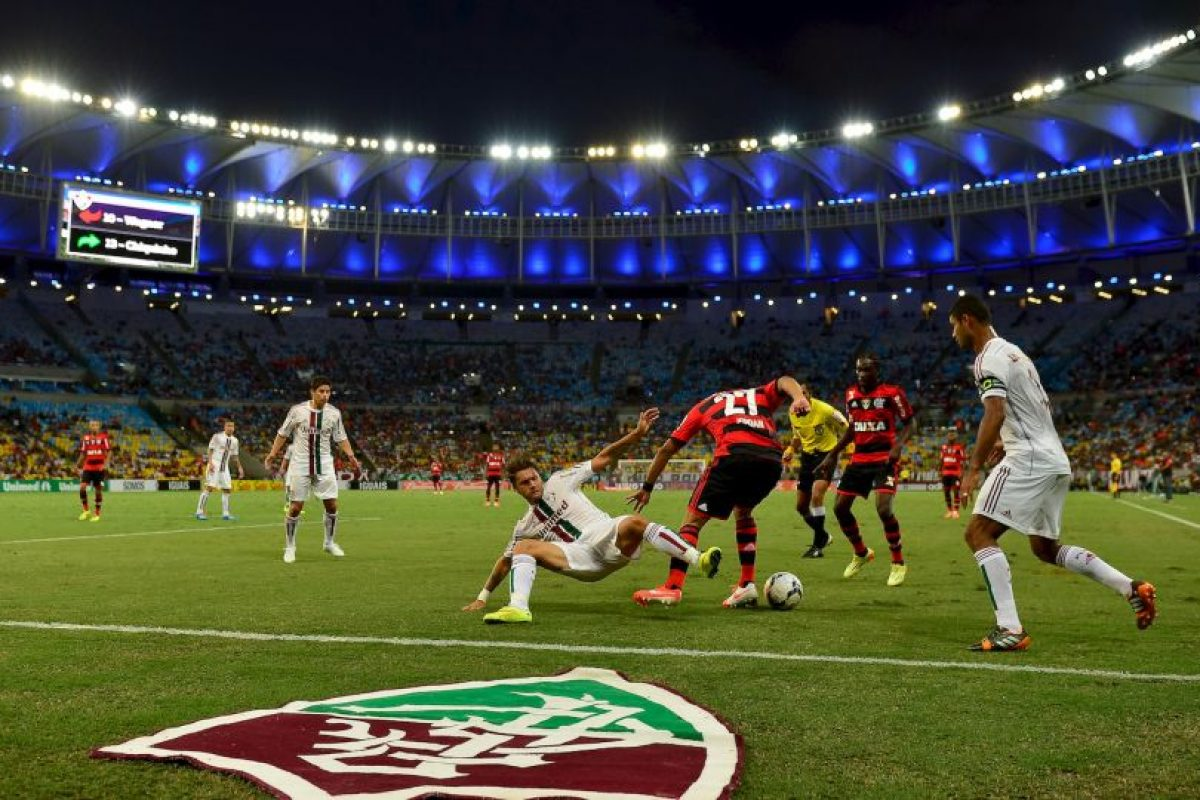 Flamengo (61.90 MDE) vs. Fluminense (63.73 MDE) = 125.63 MDE Foto: Getty Images. Imagen Por: