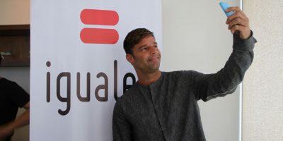 Ricky Martin abogó a favor del matrimonio igualitario en Chile