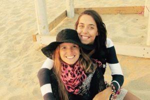 El recuerdo de las turistas argentinas Foto:instagram.com/marina.menegazzo/. Imagen Por: