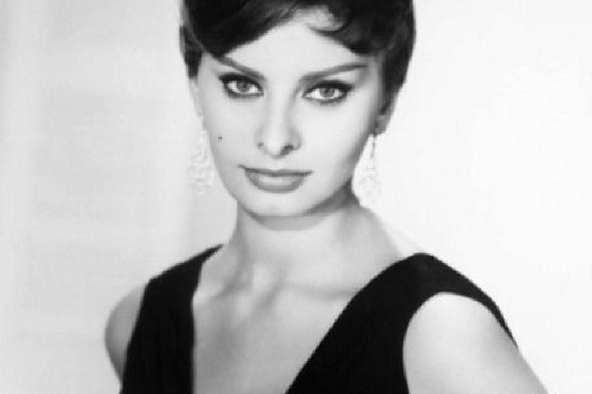 """De ahí inspiró su papel ganador del Oscar en """"Dos mujeres"""", en 1961. Foto:vía Getty Images. Imagen Por:"""