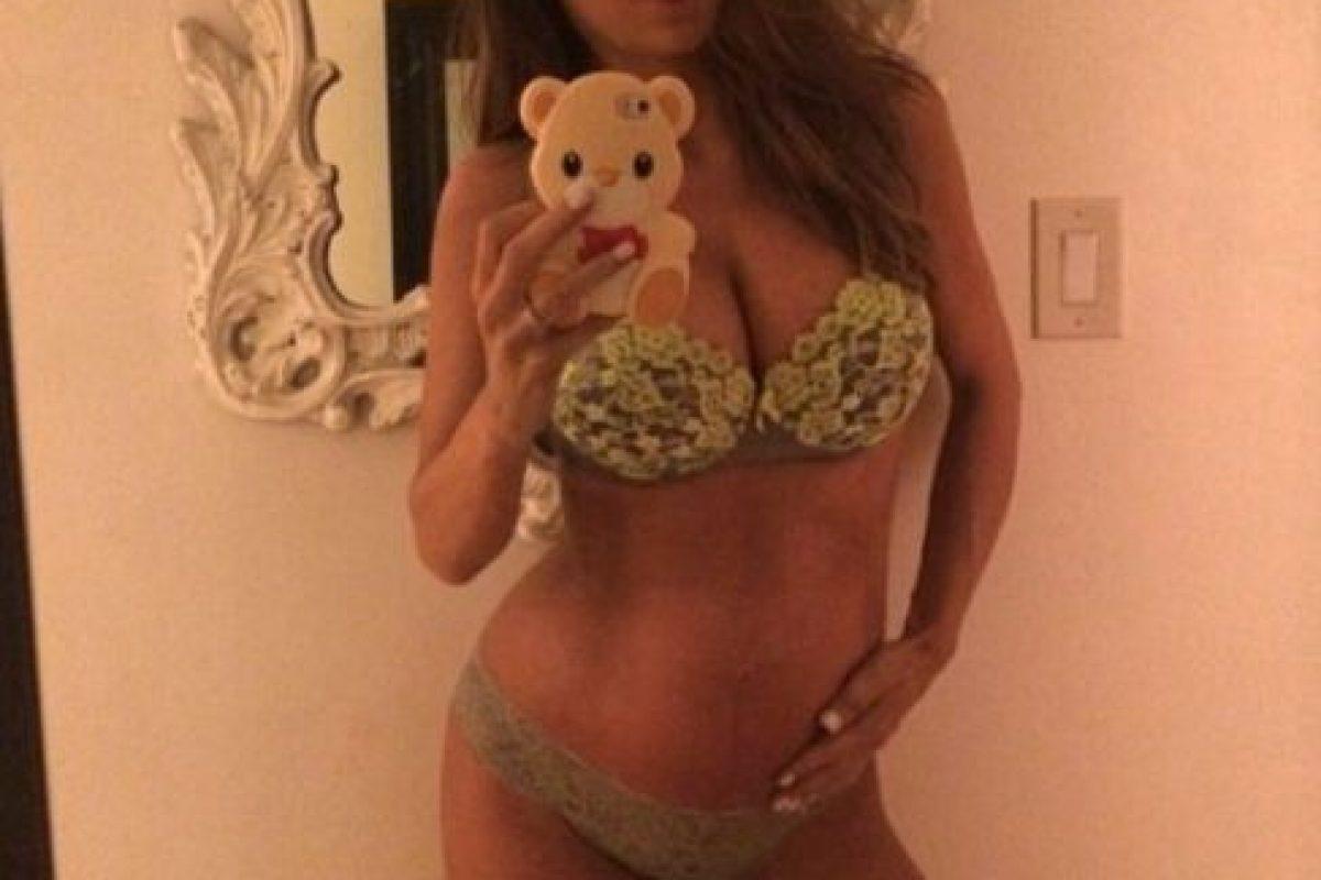 No todas las embarazadas pueden lucir así. Foto:vía Instagram. Imagen Por: