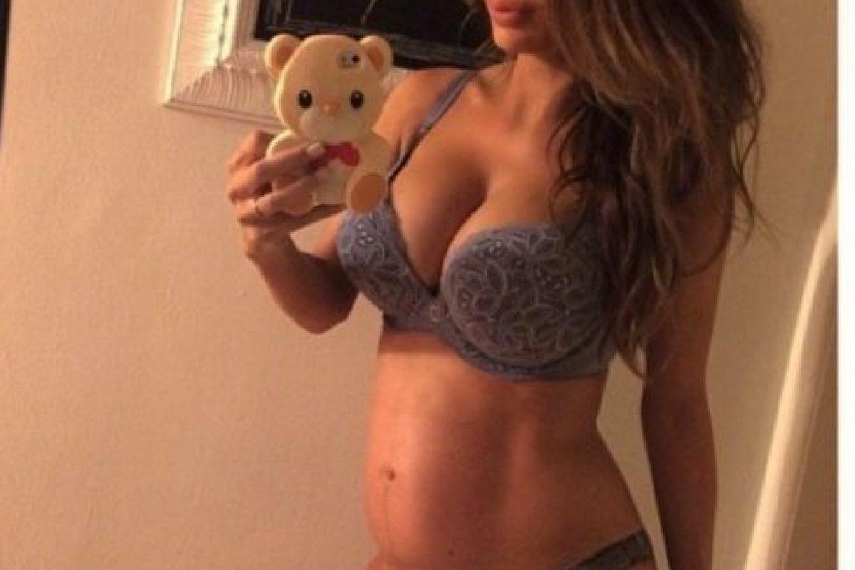 Luego de su embarazo prácticamente lucía normal. Foto:vía Instagram. Imagen Por: