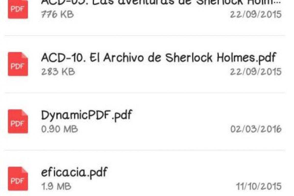 """Siempre y cuando sean archivos en PDF. Aún no hay fecha sobre la posiblidad de enviar de archivos de texto """".doc"""" y hojas de cálculo """".xls"""". Foto:Vía twitter.com. Imagen Por:"""