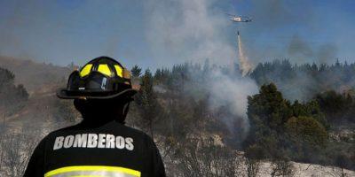 Decretan alerta roja en Puerto Varas tras incendio forestal