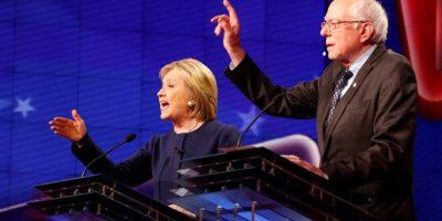 Sanders y Clinton protagonizaron duro debate demócrata en Michigan
