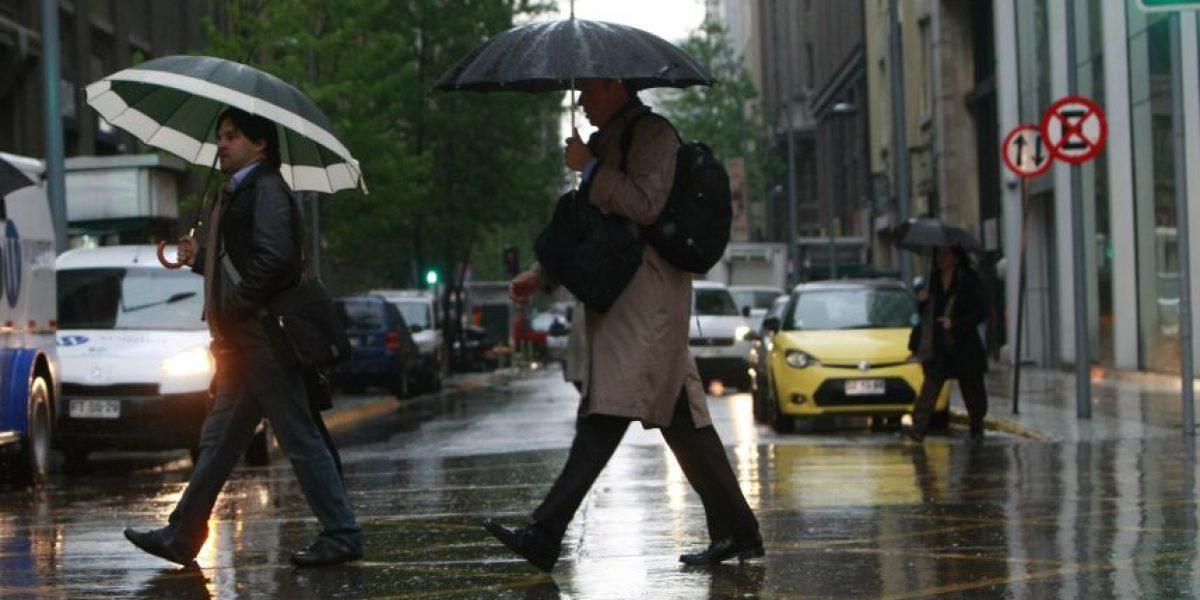 Meteorología anuncia precipitaciones débiles para la zona central del país