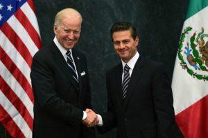 Peña Nieto junto a Joe Biden, vicepresidente de EEUU. Foto:AFP. Imagen Por: