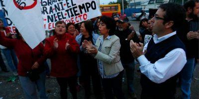 """Alcaldesa de Lampa y TAG: """"Es un proyecto mal diseñado y seguiremos movilizándonos"""""""