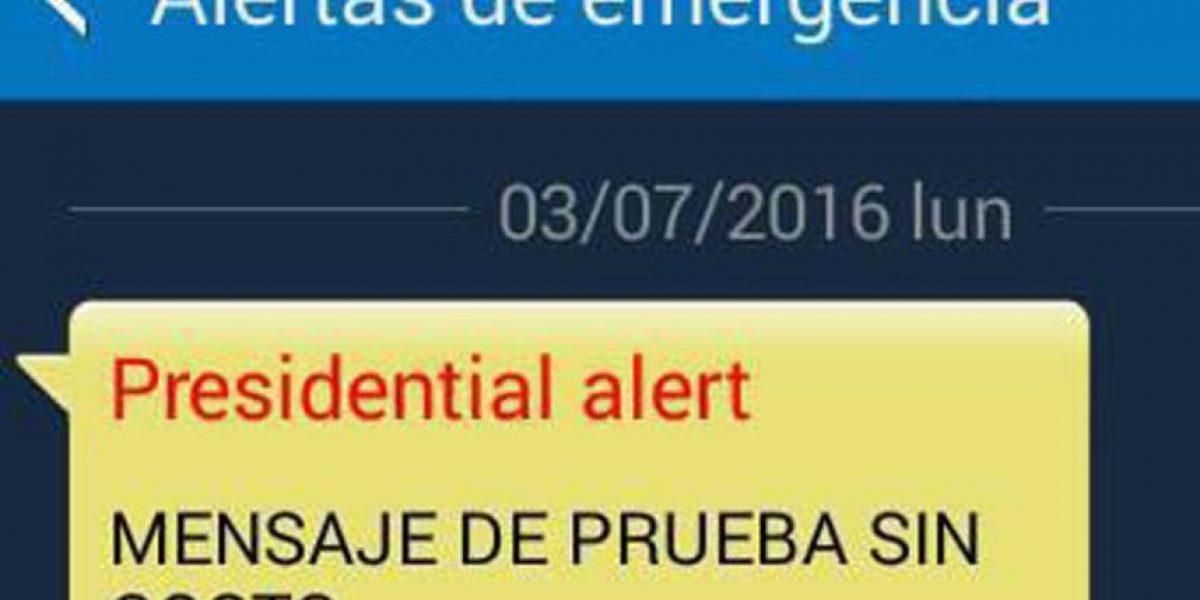 Gobierno responsabiliza a empresa de telefonía por alerta de emergencia